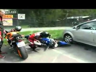 Top 10 der Motorrad Unfälle