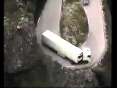 Unglaubliche LKW Fahrer