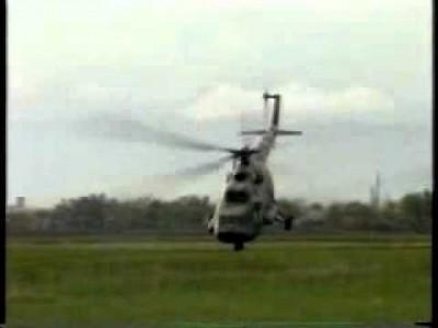 Krasser Hubschrauber Stunt auf einem Rad Win!