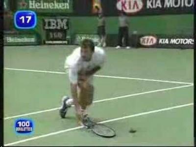 Tod beim Tennis, ein gefährlicher Horror Sport