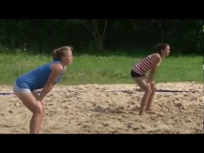 Lustiger Quick Blowjob – Sexy Volleyball Girl Fail