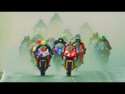 【 325 km/h Straßen-Motorradrennen 】 Isle of Man Southern 100