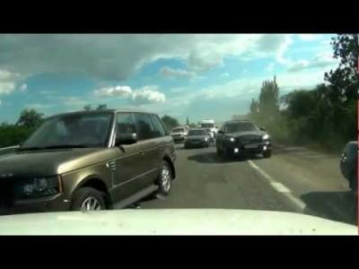 【 Keine Regeln 】 Autofahren in der Ukraine!