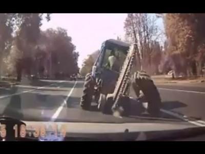 Verrückte russische Autos und Fahrer Fails und Unfälle