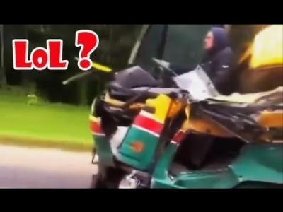 Dumme und schwere 【 Autounfälle in Russland 】