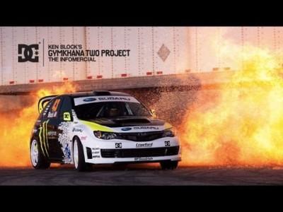 Krasse Auto Stunts und Drifts【 Ken Block Gymkhana 2 】